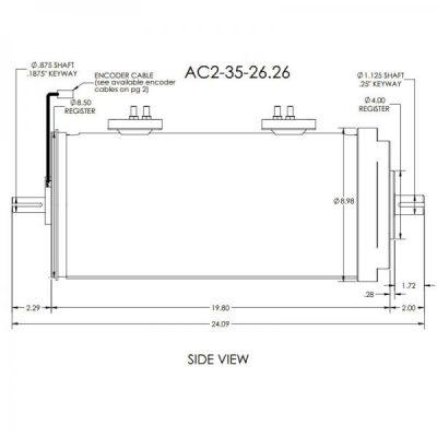 AC35 dual 144v conversion